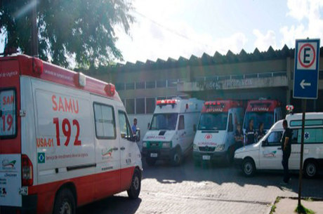 Vítima foi socorrida para o Hospital Geral Clériston Andrade
