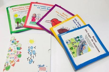 Cinco livros compõem a obra que será distribuída na comunidade