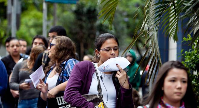 Candidatos devem ficar atentos: os portões fecham às 13h pelo horário de Brasília