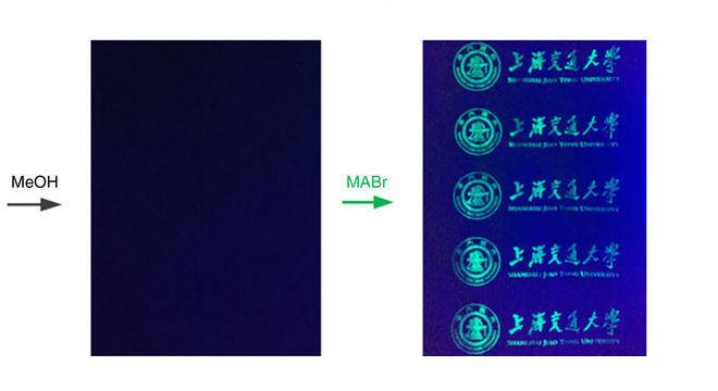 Tinta pode ser reutilizada após perder invisibilidade com composto de sal