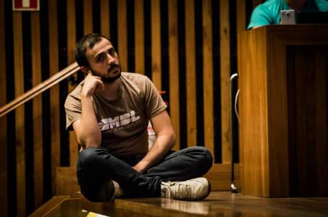 Na imagem, Renan dos Santos, líder do MBL