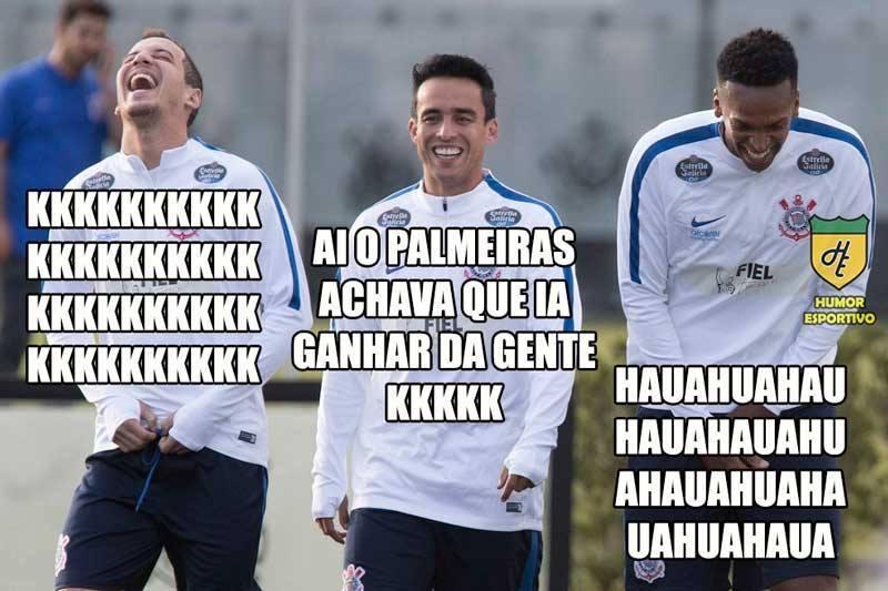 Corinthians goleia Palmeiras nos memes...Veja os melhores - Fotos - R7  Futebol 3137b0033d439