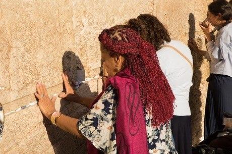 Em Israel, Luislinda visitou o Muro das Lamentações
