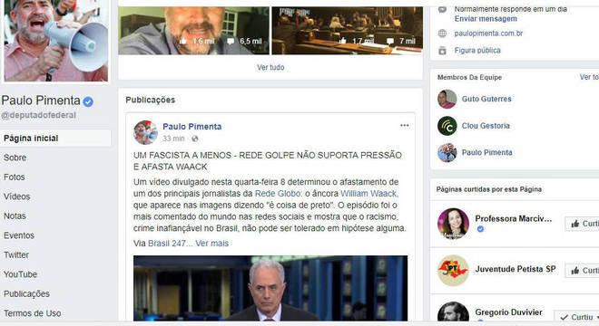 Paulo Pimenta defendeu a decisão da emissora