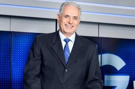 William Waack apresenta o Jornal da Globo