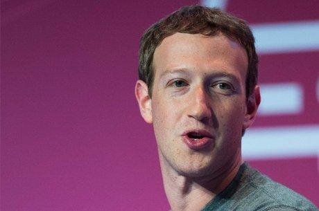 O empresário Mark Zuckerberg, dono do Facebook