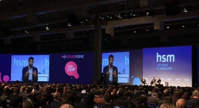 Phelps participou de evento em São Paulo e elogiou os Jogos do Rio