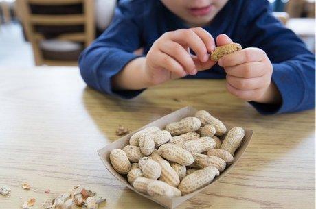 Há crianças alérgicas aos mais diferentes alimentos