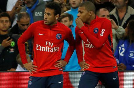 Neymar e Mbappé são amigos de Paris Saint-Germain