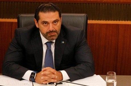 """Hariri diz que sua renúncia será um """"choque positivo"""""""