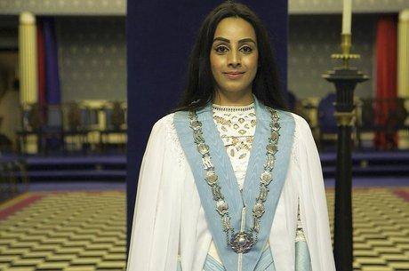 BBC Roshni Patel se tornou mestre maçom