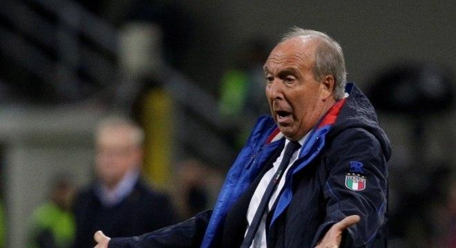 Gian Piero Ventura pode ser demitido do comando da seleção italiana