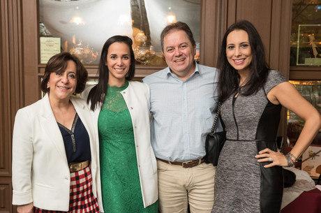 Eliza Ferreira, Maíra García, Edmar Barros e Melissa Gontijo