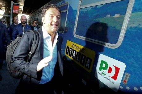 Ex-premier Matteo Renzi é secretário do Partido Democrático (PD)