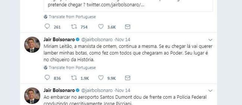 Bolsonaro ataca jornalista da Globo e Luciano Huck agradece