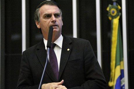 O deputado Jair Bolsonaro ocupa o segundo lugar em pesquisas de intenção de voto para as eleições presidenciais (Foto: Câmara dos Deputados