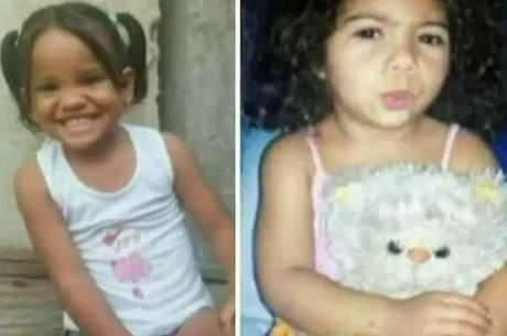 Meninas foram encontradas no dia das crianças