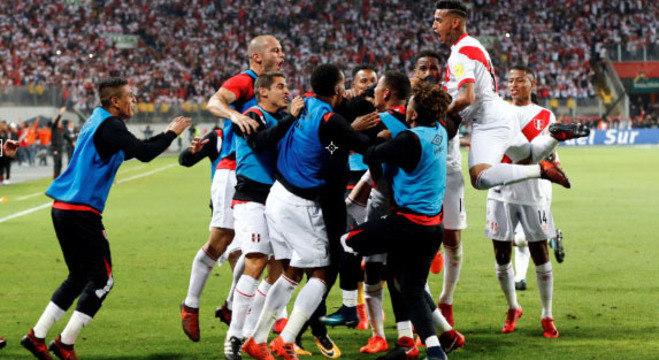 Repescagem: Peru foi a última seleção a conquistar vaga para a Copa de 2018
