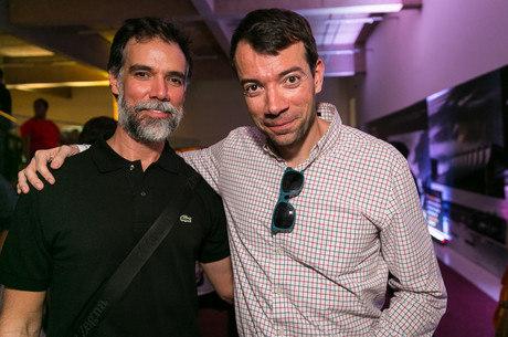 Daniel Mangabeira e Raul Juste Lores