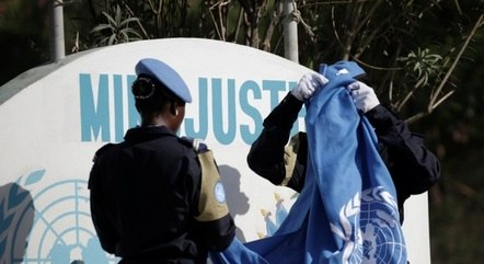 Brasil diminui participação na força de paz