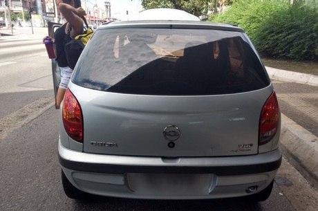 O carro tem mais de R$ 3 milhões em multas