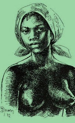 Dandara teria sido líder do exército de mulheres em Palmares