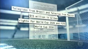 Executivo diz ter registro de propina para transmissão da Copa América (Reprodução/Record TV)