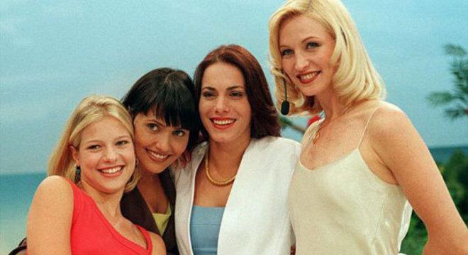 Jackeline Petkovic, Valéria Balbi, Debora Rodrigues e Adriana Colin