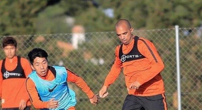 Diego Tardelli está na China desde de 2015 e não pretende voltar para o Brasil