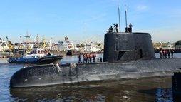 O que acontece quando desaparece um submarino como o argentino? ()