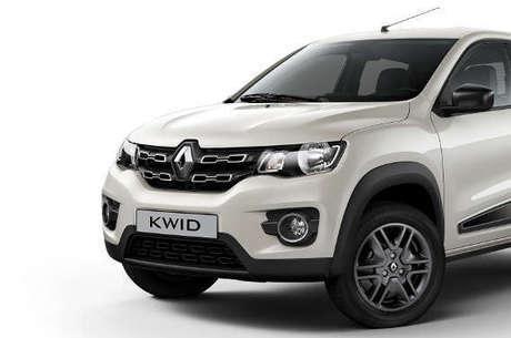 Renault Kwid Intense 2018 branco