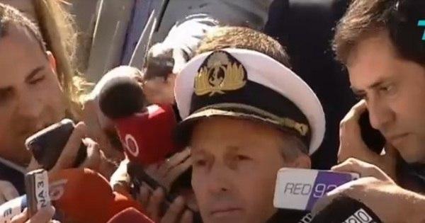 Submarino: 100% da área de busca já foi vasculhada, diz comandante