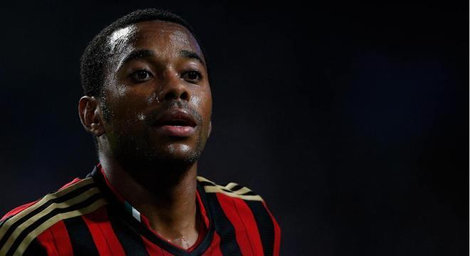Robinho foi condenado por crime cometido quando atuava pelo Milan, da Itália