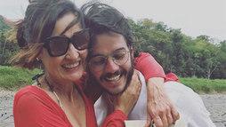 Fátima Bernardes consola namorado após exoneração de órgão público ()
