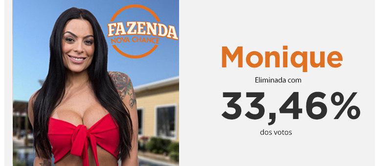 Monique Amin enfrentou Monick Camargo e foi eliminada