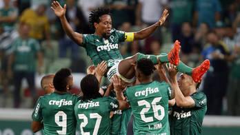 No último jogo da carreira de Zé Roberto, Palmeiras vence Botafogo (Alex Silva/Estadão Conteúdo - 27.11.2017)