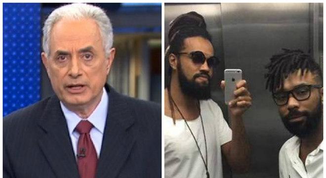 Jornalista foi afastado de suas funções após comentário racista