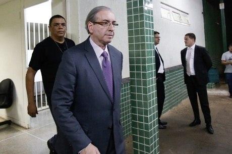 O ex-deputado federal Eduardo Cunha, que está preso