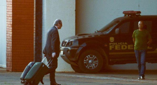 Cunha é acusado de corrupção passiva e ativa, lavagem de dinheiro e prevaricação