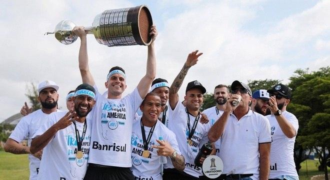 Grêmio, de Marcelo Grohe, campeão da Libertadores de 2017