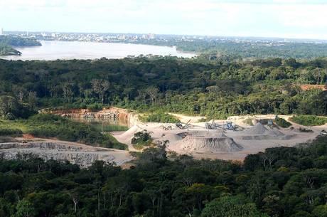Grupo usou metais pesados na extração de ouro