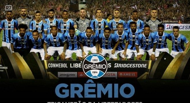Heróis imortais: Grêmio leva Libertadores pela terceira vez
