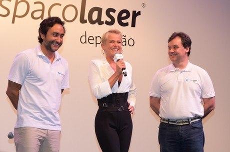 Xuxa participou de convenção da Espacolaser