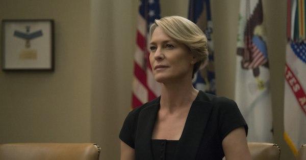 Netflix confirma Robin Wright como protagonista e ausência de cenas com Spacey