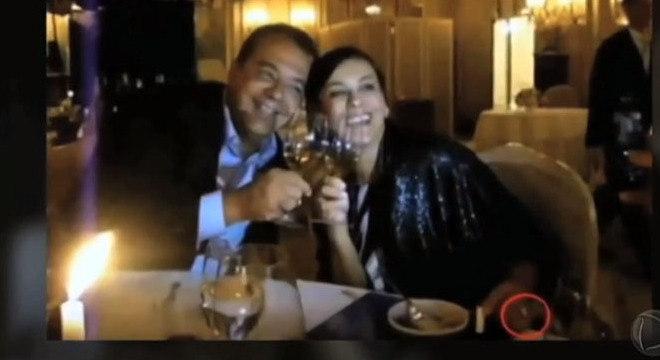 Adriana é esposa do ex-governador Sérgio Cabral, que segue preso em Benfica