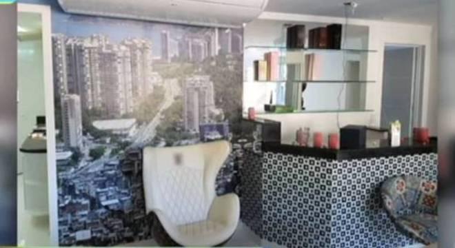 Casa de luxo foi encontrada no alto da favela da Rocinha, em setembro
