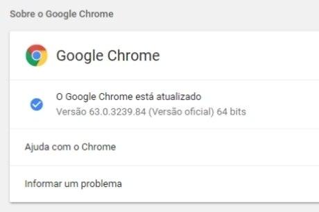 Google Chrome v63.0.3239.84 corrige 37 falhas de segurança