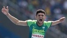 'Agarrei atletismo com duas mãos, mesmo tendo só uma', diz Petrúcio
