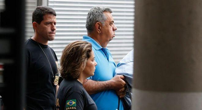 Picciani e outros dois deputados foram estão presos na cadeia de Benfica