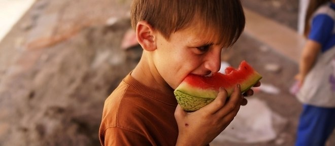 Crianças que mais sofrem fome estão nos países em guerra